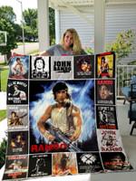 Rambo Quilt Blanket For Fans Ver 17-1