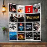 Papa Roach Album Covers Quilt Blanket