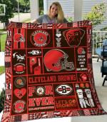 Cleveland Browns Quilt Blanket 02