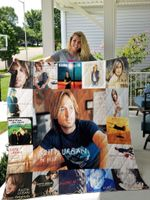 Keith Urban Quilt Blanket