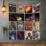 Jimi Hendrix Album Covers Quilt Blanket