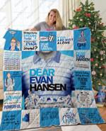 Adu – Dear Evan Hansen Christmas Quilt Blanket