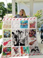 The Monkees Quilt Blanket