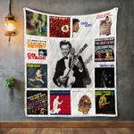 Chuck Berry Album Covers Quilt Blanket