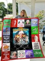 National Lampoon's Christmas Quilt Blanket 01332