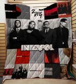 Interpol Quilt Blanket