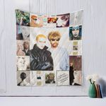 Eurythmics Style Two Quilt Blanket
