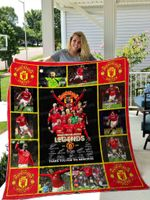 Manchester United All Season Plus Size Quilt Blanket