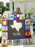 Texas Quilt Blanket 02