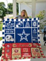Dallas Cowboys Quilt Blanket