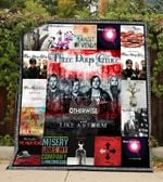 Three Days Grace Style 2 Quilt Blanket
