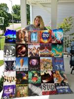 Styx Band Albums Quilt Blanket For Fans Ver 25