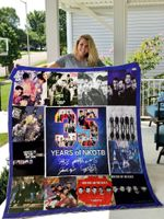 35 Years Of New Kids On The Block Quilt Blanket