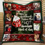 Bc – Hallmark Channel And Hot Chocolate Christmas Quilt Blanket