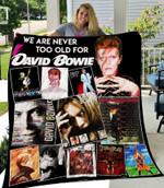 David Bowie New Quilt Blanket