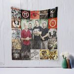 Sick Of It All Quilt Blanket
