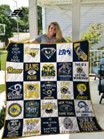 Los Angeles Rams Quilt Blanket 02