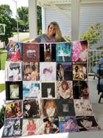 Linda Ronstadt Albums Quilt Blanket For Fans Ver 25