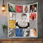 Amber Album Covers Quilt Blanket