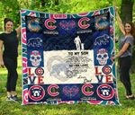Chicago Cubs Family Quilt Blanket