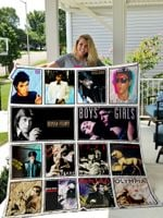 Bryan Ferry Style Two Quilt Blanket