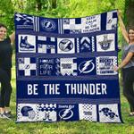 Tampa Bay Lightning Quilt Blanket 05