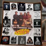 Seinfeld T-Shirt Quilt Blanket