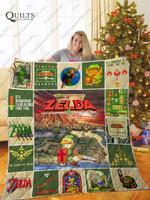 The Legend Of Zelda Quilt Blanket