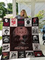Friday The 13th Quilt Blanket For Fans