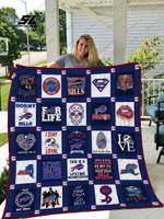 Buffalo Bills Caro Quilt Blanket
