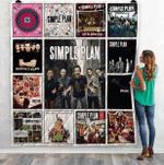 Simple Plan Albums Quilt Blanket Ver13