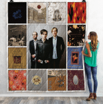 Bright Eyes Albums Quilt Blanket Ver13
