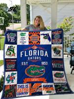 Florida Gators Quilt Blanket 01