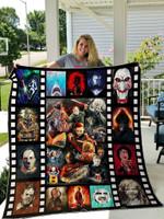 Horror Movies Quilt Blanket