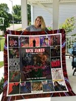 Rick James Quilt Blanket