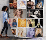 Trisha Yearwood Albums Quilt Blanket 01