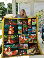 The Fox And The Hound Quilt Blanket 01