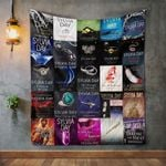 Sylvia Day Books Quilt Blanket