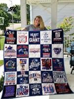 New York Giants Quilt Blanket 02
