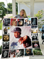 50 Cent Quilt Blanket 0953