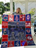 Chicago Cubs Quilt Blanket