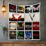 Bullet For My Valentine Album Covers Quilt Blanket