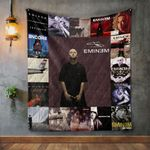 Eminem Style Two Album Covers Quilt Blanket