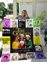 The Golden Girls Quilt Blanket