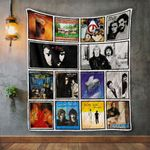 Hall &Amp; Oates Album Covers Quilt Blanket