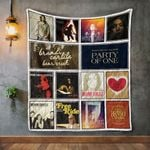Brandi Carlile Album Covers Quilt Blanket
