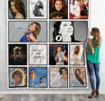 Shania Twain Albums Quilt Blanket For Fans