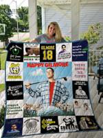 Happy Gilmore T-Shirt Quilt Blanket Ver17