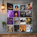 Prince Album Covers Quilt Blanket