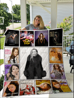 Miley Cyrus Singles Quilt Blanket
